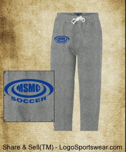 J. America Premium Open Bottom Sweatpants Design Zoom